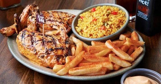 Nando's are giving away free chicken for A-Level students!